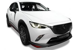Beispielfoto: Mazda CX-3