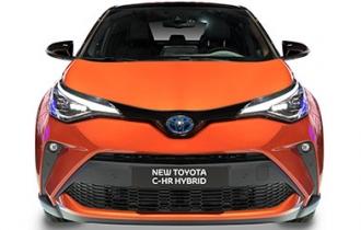 Beispielfoto: Toyota C-HR