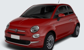 Fiat 500 1.0 Lounge Hybrid KLIMA ALU Apple Temp