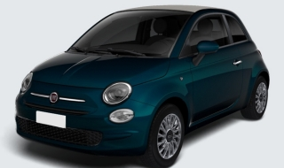 Fiat 500C 1.0 Lounge Hybrid KLIMA ALU Apple Temp