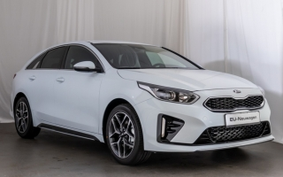 "Kia ProCeed GT 1.6 T-GDI 18"" FELGEN NAVI FULL LED"